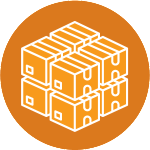 Pallet Delivery Icon